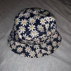 Flower Reversible bucket hat